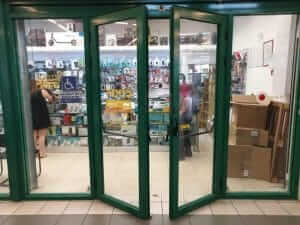 דלתות כניסה אלומיניום
